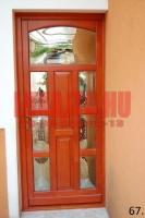 Soküveges bejárati ajtó családi házba Budapest