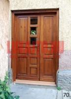 Családi ház kültéri bejárati ajtó Budapest 15. kerület