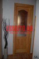 Lakkozott fa beltéri ajtó csere Budapest 7. kerület