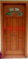 Napsugár mintás ajtó családi házba Budapest XVII. kerület