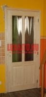 Natúr borovifenyő beltéri ajtó csere Budapest 8. kerület