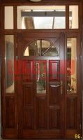 Családi ház felülvilágítós bejárati ajtó Budapest XIX. kerület