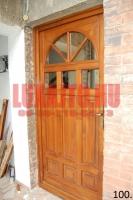 Üvegezhető családi ház bejárati ajtó Budapest